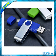 high speed swivel waterproof OTG usb flash drive