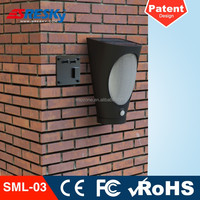 Battery Operated Solar Powered Outdoor Led Curtain Wall Light