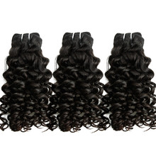 Strong double machine weft Brazilian jerry curl aliexpress hair