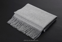 Shawl Custom Solid Color Pashmina Winter Wool Cashmere Scarf