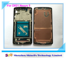 Front+ LCD+ touch+ frame complete assembly For google nexus 5 D820 D821