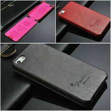 Top flip case for iphone 5 5s mobile phonecase