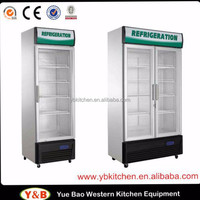 Upright Showcase Refrigerator / Cooler / Fridge