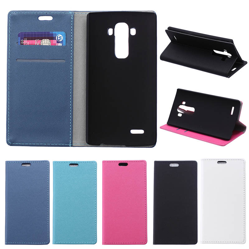 PU Leather Case For LG G4, Mobile Phone Case Design for LG G4 Case, Business Style Credit Holder for LG G4 Case Cover