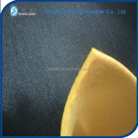 sponge foam automotive pvc polyester fabric synthetic leather for car seat