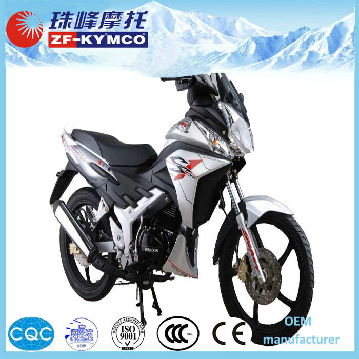 High quality air cooled 125cc automatic motorcycle with media player ZF125-3