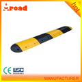 Yellow & black 500*350*50mm road speed bump for sale