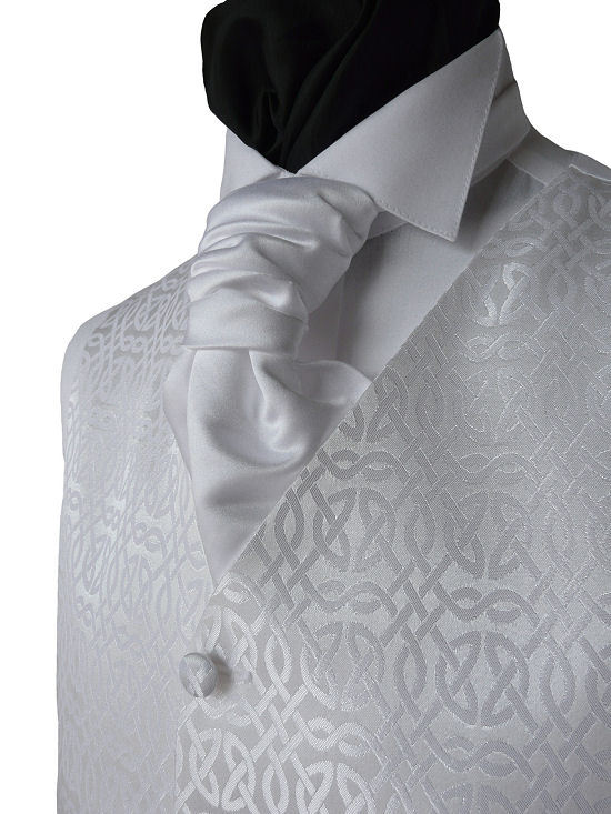 Microfiber formal mens designer embroidered mens vests & waistcoats
