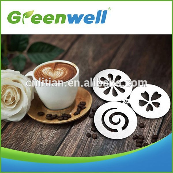 Cappuccino art wholesale coffee stencil for decoration