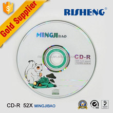 RISHENG full face blank cd-r printable Virgin A/wholesale blank hard cd-r disk