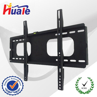 Ultra-Slim Low Profile TV Wall Mount for LED, LCD, and Plasma TVs - for 37-65 inch TV