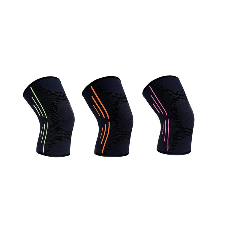 overcome Yellow Customized racing professional knee pads for pain