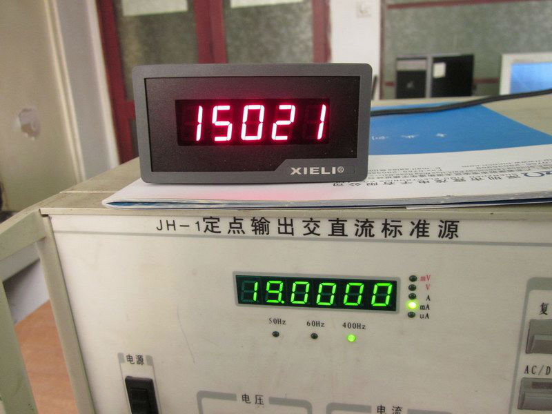 0-5V 1-10V 4-20mA data transfer display meter
