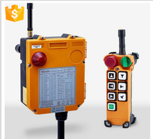 RF transmitter and receiver wireless crane remote control F24-6D Crane radio remote control