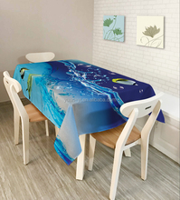 Ocean Cloth Shop Counter Fabric Painting Designs Factory Table Cloth