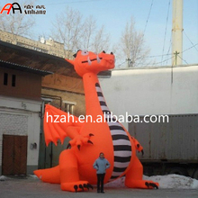 Giant Inflatable Dragon Cartoon Animal for Advertising Decoration