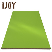 green color high gloss UV board,MDF, laminate for kitchen or bathroom cabinet