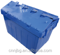 popular 100% new pp Nested plastic logistic container for food vegetable fruit potato storage