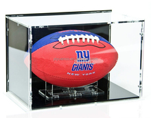 Custom acrylic basket display perspex ball case lucite basket ball box