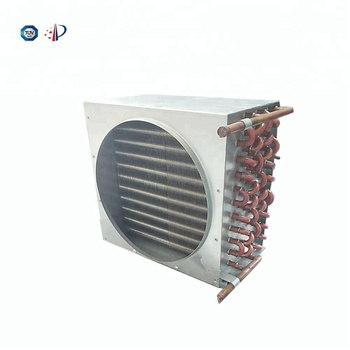 Manufacturer export copper tube refrigeration condenser