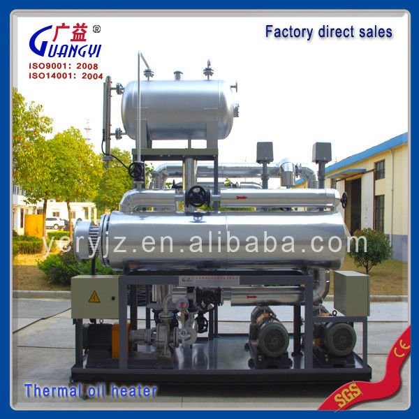 oil fired heating systems for rubber presses,china manufacture