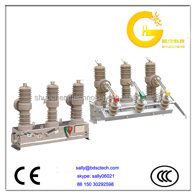 Outdoor certified 15kV Vacuum Circuit