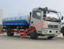 4260CC Engine Dongfeng 8000Litres Water Truck Cheaper Price For Sales Call Ms.Pinky 0086 15897603919