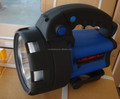 5W led rechargeable spotlight with flash light on backside