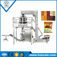 Weighing packing Packaging machine for biscuits, crispy rice, peanut, melon seed