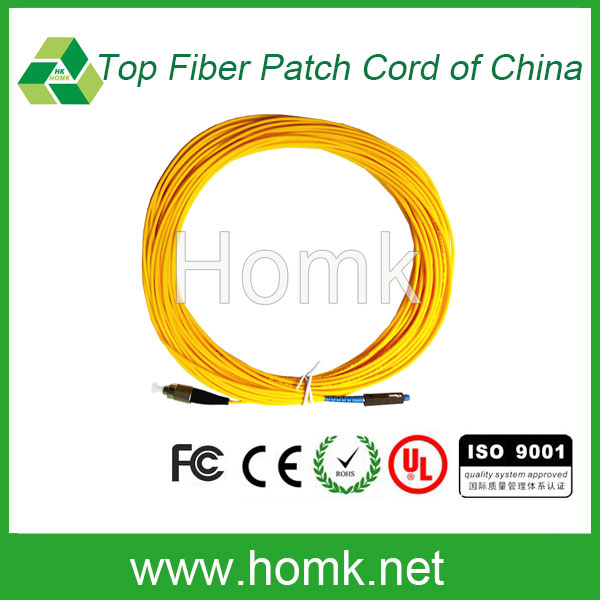 MU to FC 5m optical fiber patch cord China good price patch cord
