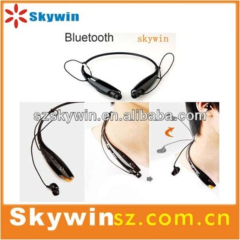 High qulity newest neck style mobile phone bluetooth headset 2014