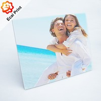 Special newest design wooden sublimated digital photo frame with photos