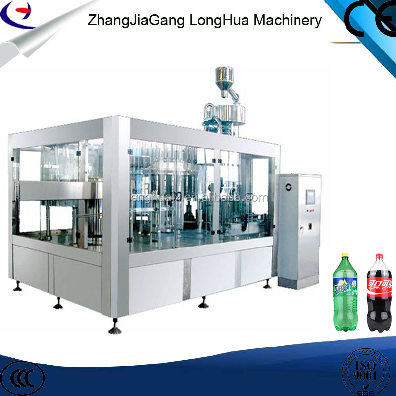carbonated soft drink filling machine /carbonated soft drink bottling machine