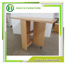 Wooden extensible table