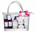 Mother's Day bath gift set body care nourishing bath products with carnation perfumed