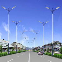 solar street light 60w street led lights, led street light price list