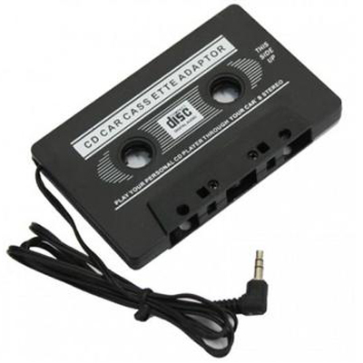 Car Audio Cassette Adapter for iPod / MP3 / CD Player