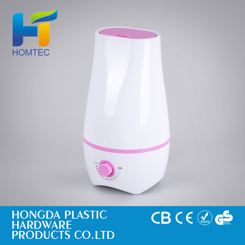 Electric and ultrasonic aromatherapy essential oil diffuser
