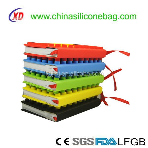 soft book cover printing wholesale silicone cover
