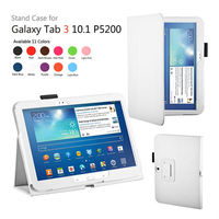 New Product Leather Case for Samsung Galaxy Tab 3 P5200 Wholesale Price For Samsung P5200