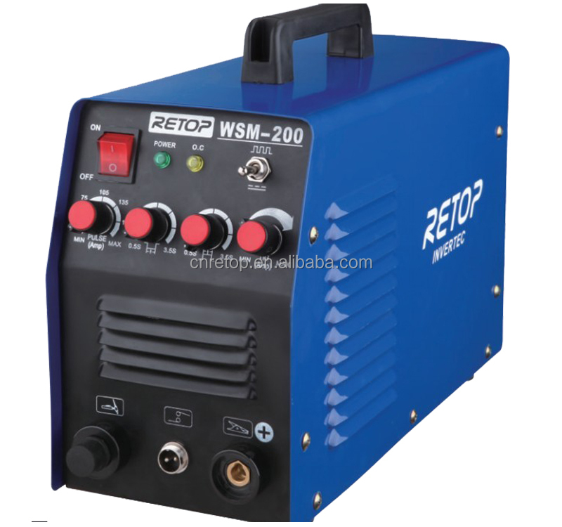 Factory wholesale Inverter DC MMA/TIG Welder TIG-200A