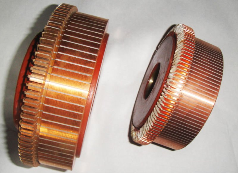 Commutators for DC Motors