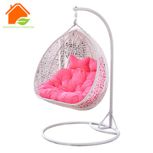 rattan patio swings egg chair, swing as an hanging chair, rattan hanging basket chair