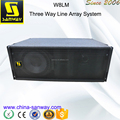 W8LM 2x8'' Mini High Performance Three-way Line Array Enclosure