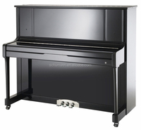 Schumann (K4-122) Black Upright Piano Musical Instruments