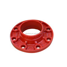 ductile iron Grooved flange red / coupling and grooved fitting
