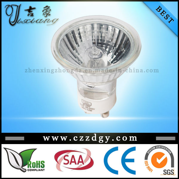 CE/ERP/ROHS Certfied China supplier halogen lamp gu10 10w/25w/35w/50w/75w gu10 class c halogen lamp lumens 220-240v gu10 haloge