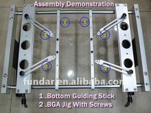 BGA fixture with screws (x 4pcs) & Bottom support clamp (x2pcs) For ACHI IR 6000 rework station