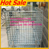 Hot Sale Heavy Duty Foldable Wire Mesh Storage Cage