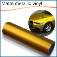 Metallic Matte Pearl Gold Vinyl Car Wrap Film